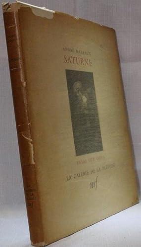 Saturne: Georges André Malraux
