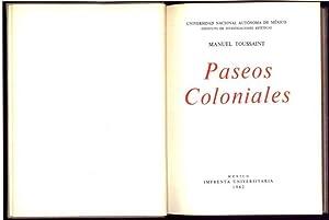 Paseos Coloniales: Toussaint y Ritter, Manuel (1890-1955)