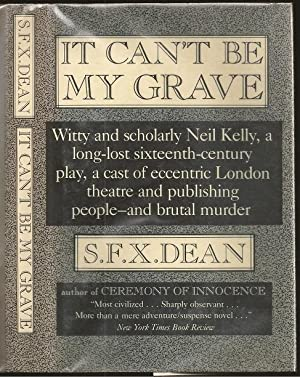 It Can't be My Grave: A Professor: S F X