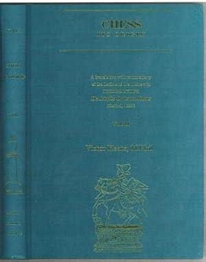 Chess: Its Origin. De Ludis Orientalibus (Oxford,: Hyde, Thomas (1636-1703)