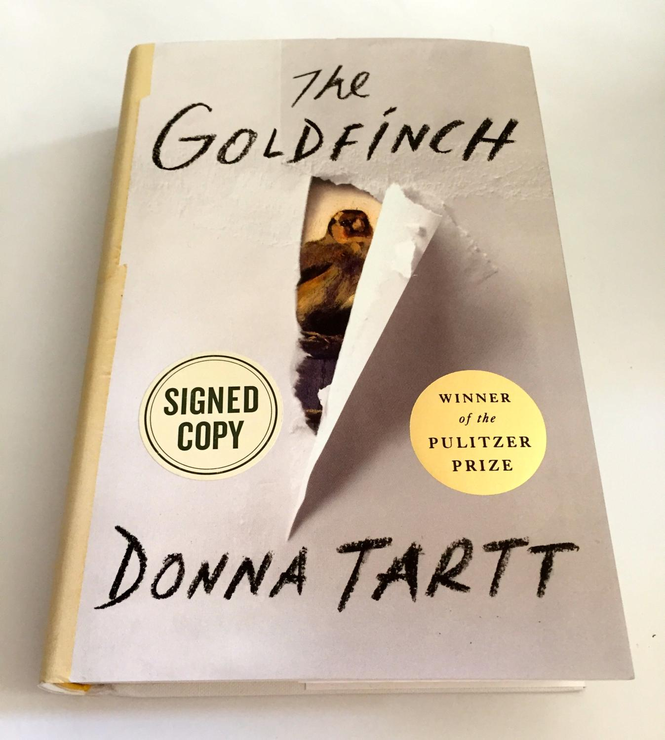 The Goldfinch: A Novel [SIGNED] Pulitzer Prize for Fiction: Tartt, Donna