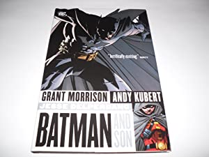 BATMAN And Son [SIGNED w. DOODLE + Photo]: Morrison, Grant; Andy Kubert [Illustrator]