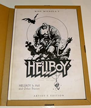 HELLBOY In Hell and Other Stories: Artist's Edition [SIGNED + Photo]: Mignola, Mike