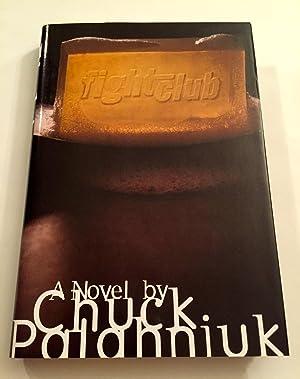 Fight Club: A Novel [SIGNED + TAGLINE + Photo]: Palahniuk, Chuck