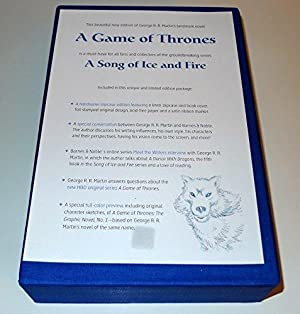 A Game of Thrones: A Song of Ice & Fire, Book One [SIGNED + photo]: Martin, George R. R.