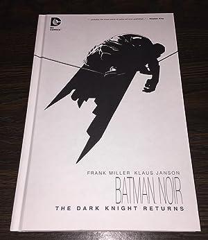 Batman Noir: Dark Knight Returns [SIGNED]: Miller, Frank