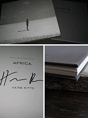 Africa [SIGNED LIMITED SLIPCASED EDITION]: Ritts, Herb