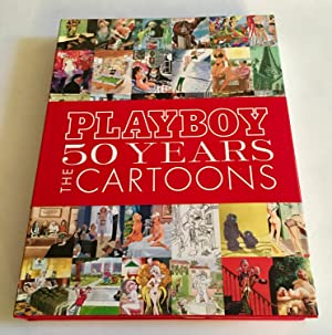 PLAYBOY, 50 YEARS: THE CARTOONS (Signed by: Hefner, Hugh