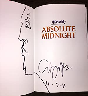 ABARAT, Book 3: Absolute Midnight [SIGNED + SKETCH + Photo]: Barker, Clive