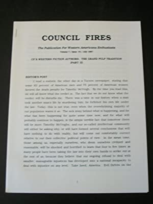 Council Fires, The Publication for Western Americana: Blumenfeld, Larry (editor)
