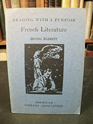 French Literature (Reading with a Purpose Series): Babbitt, Irving