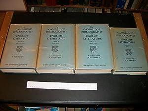 The Cambridge Bibliography of English Literature, Volumes I-IV: Bateson, F. W.