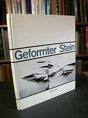 Geformter Stein, Gestalten Mit Beton, Wege Zu Einer Plastischen Architektur, Beton in Der Bildenden...