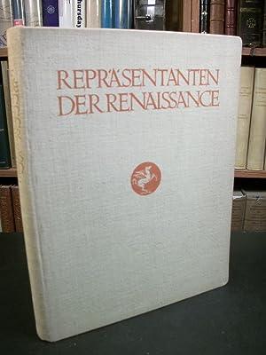 Reprasentanten Der Renaissance: Floerke, Hanns (Herausgegeben von)