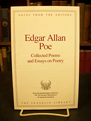 edgar alan poe essay Free example essay: compare and contrast the life and poetry of edgar allan poe and emily dickinson sample comparison essay paper for students from advancedwriterscom.