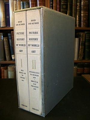 Picture History of World Art, 2 Volumes: Denis, Valntin; Vries, T. E. De (editors)
