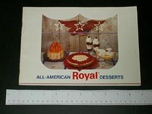 All-American Royal Desserts