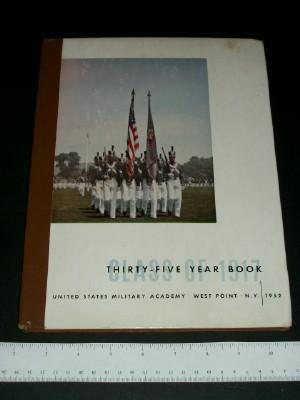 Thirty-Five Year Book: Class of Nineteen Seventeen (1917)