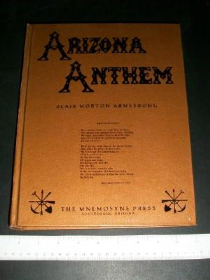 Arizona Anthem: Armstrong, Blair Morton (ed)