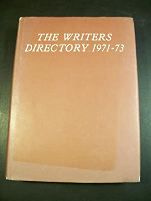 The Writers Directory 1971-73: Seaton, A. G.