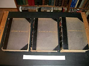 The National and Domestic History of England in Three Volumes (complete): Aubrey, William Hickman ...