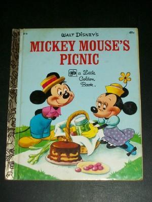 Walt Disney's Mickey Mouse's Picnic (Little Golden: Werner, Jane