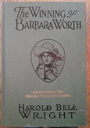 The Winning of Barbara Worth: Wright, Harold Bell