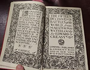The Fifteen Decisive Battles of the World (Everyman's Library)