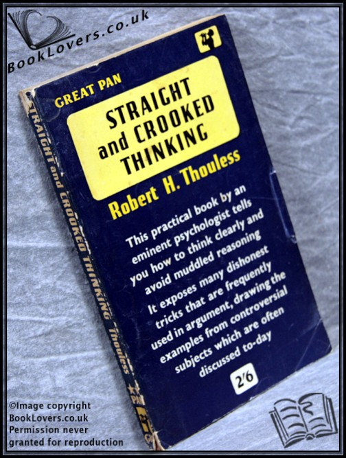 straight and crooked thinking thouless pdf