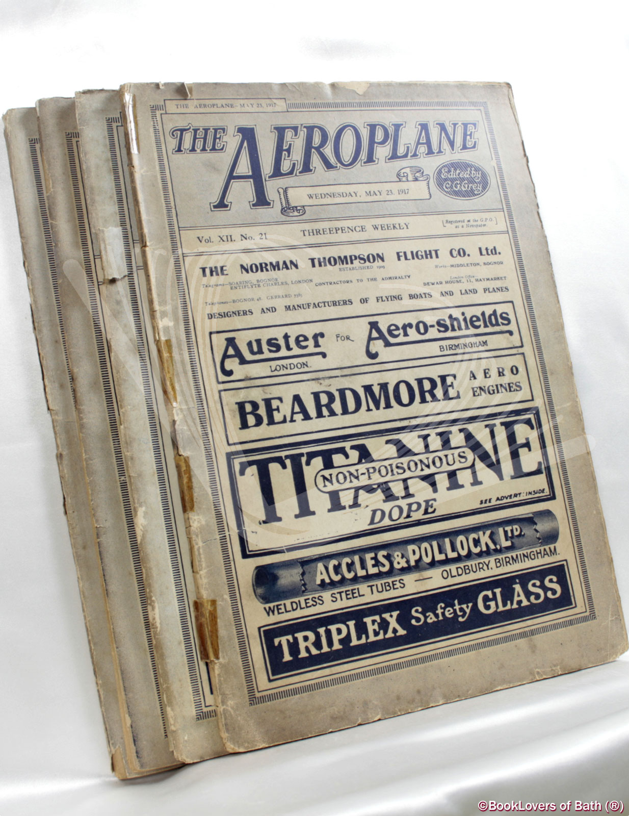 The Aeroplane C. G. [Charles Grey] Grey Softcover