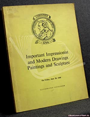 Catalogue of Important Impressionist and Modern Drawings