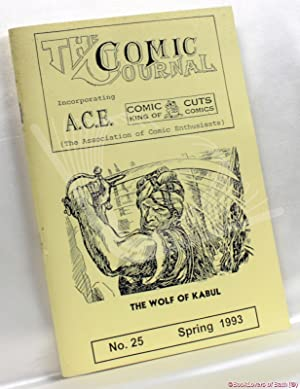 The Comic Journal Incorporating A.C.E. No. 25 Spring 1993