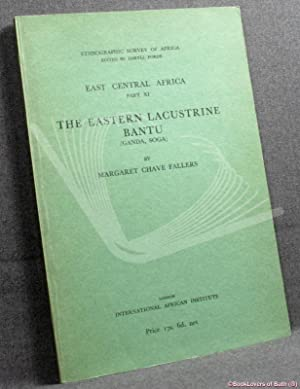 The Eastern Lacustrine Bantu: (Ganda and Soga)