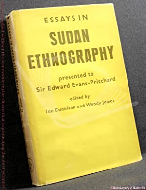 Essays in Sudan Ethnography Presented to Sir Edward Evans-Pritchard