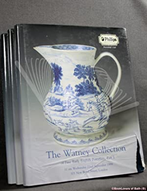 The Watney Collection of Fine English Porcelain: Parts I, II & III