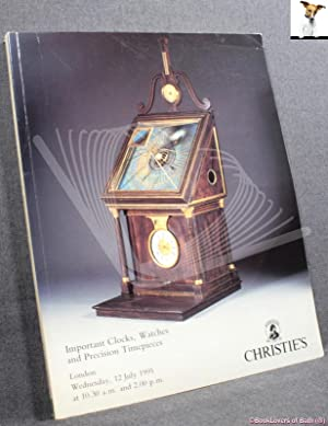 Important Clocks, Watches and Precision Timepieces: Wednesday, 12 July 1995 at 10.30 A.m. (lots 1...