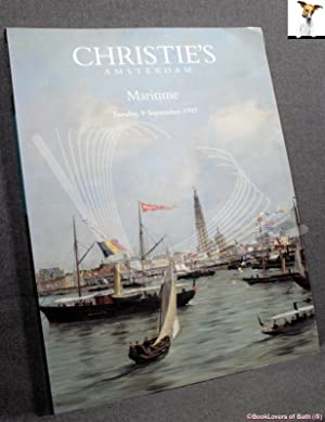 Maritime Tuesday, 9 September 1997: Works of Art Associated with the Dutch East India Company and...