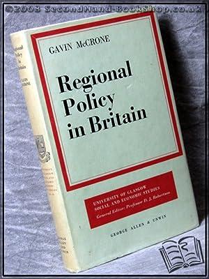 Regional Policy in Britain: Gavin Mccrone