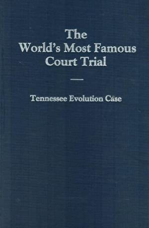 World's Most Famous Court Trial Tennessee Evolution