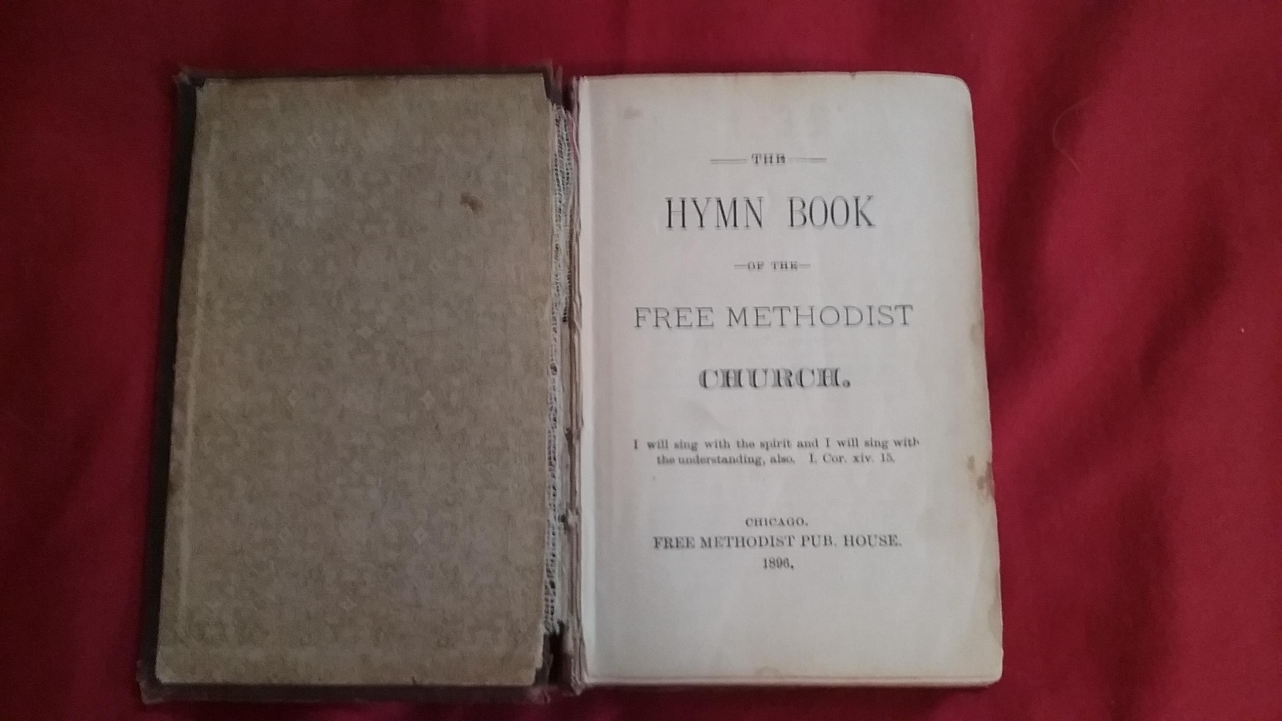 The Methodist Hymn Book