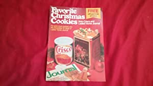 FAVORITE CHRISTMAS COOKIES FROM CRISCO AND LADIES': Ladies' Home Journal