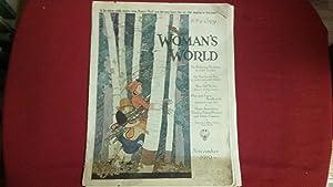 WOMAN'S WORLD NOVEMBER 1919: Woman's World Magazine