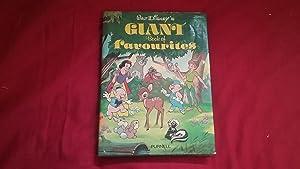 WALT DISNEY'S GIANT BOOK OF FAVOURITES: Walt Disney