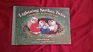Lightning Strikes Twice (A Woodsey adventure book): Ridlon, Marci