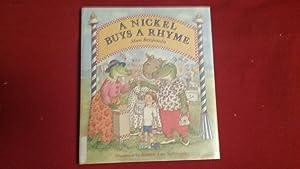 A Nickel Buys a Rhyme: Benjamin, Alan