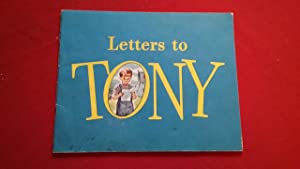 LETTERS TO TONY: General Mills