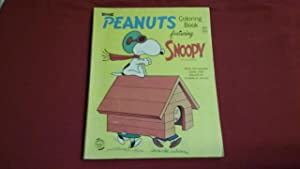 PEANUTS COLORING BOOK FEATURING SNOOPY: Schulz, Charles M.