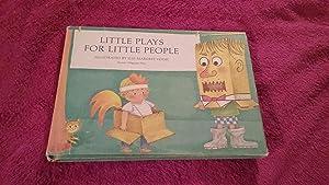 LITTLE PLAYS FOR LITTLE PEOPLE: Vogel, Illse-Margeret