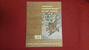 WILDLIFE CONSERVATION STAMP ALBUM 1959: Peterson, Roger Tory