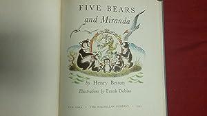 5 BEARS AND MIRANDA: Beston, Henry